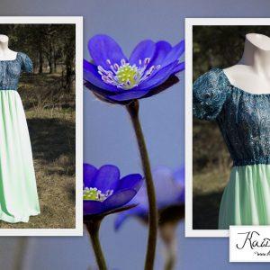 Metshaldja kleit - Kui metsas haldjad ringi liiguksid, siis ilmselt sellistes kleitides :)