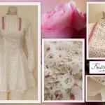 Vintage-hõnguline kleit kooli lõpetamiseks