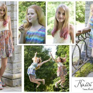 Suvised kleidid ilusatele tüdrukutele