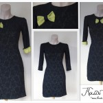 Must kleit lisandiga